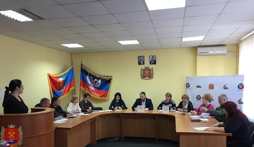 Заседание Координационного совета по патриотическому воспитанию детей и молодёжи