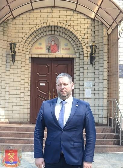 Поздравление главы администрации Д.С. Шевченко с праздником Пасхи