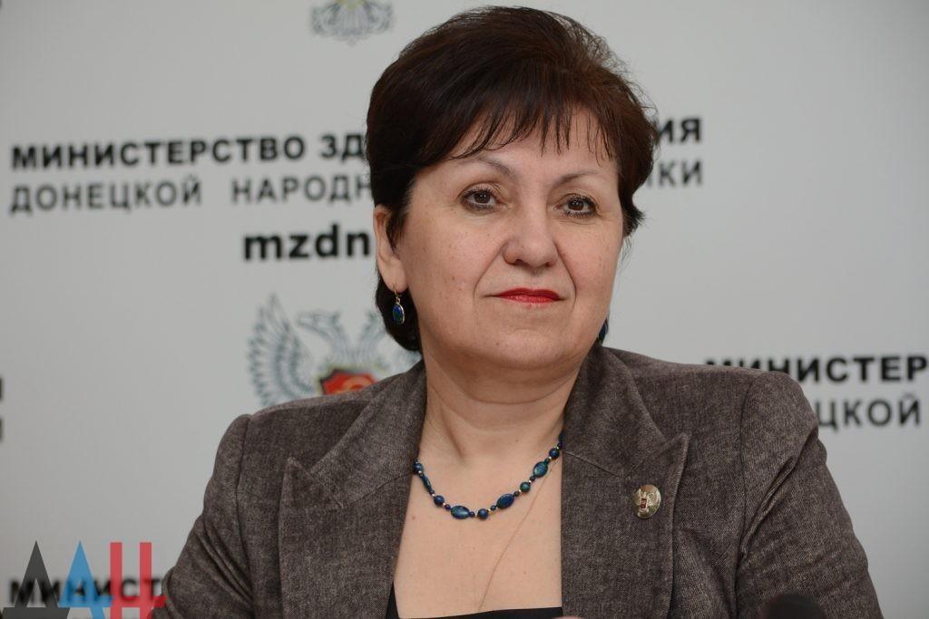 Глава Минздрава ДНР Ольга Долгошапко 3 апреля проведет прямую линию с жителями Республики