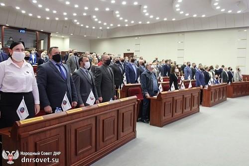 В Народном Совете почтили память погибших при авиаударе в 2014 году