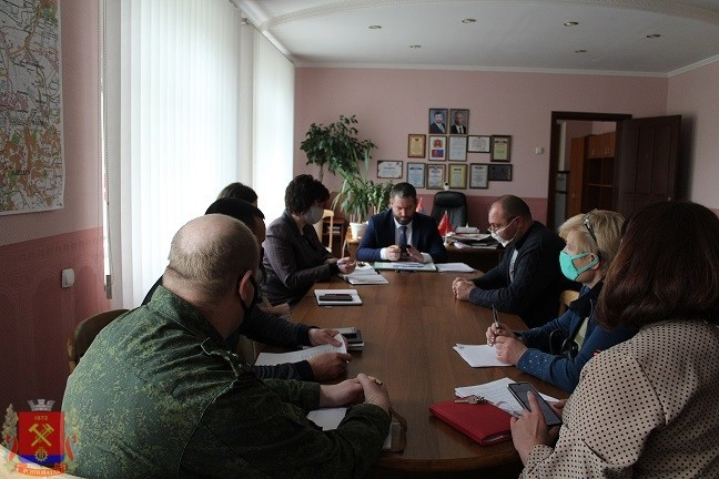 Заседание Межведомственного оперативного штаба по предотвращению распространения коронавирусной инфекции 2019-nCoV