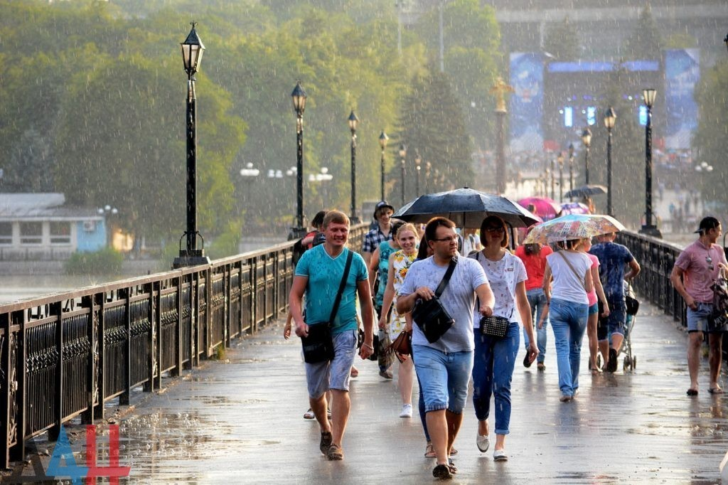 Гидрометцентр МЧС ДНР прогнозирует на текущей неделе кратковременные дожди, местами грозы