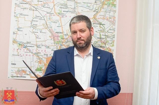 Поздравление главы администрации Д.С.Шевченко с Днем работника Миграционной службы ДНР