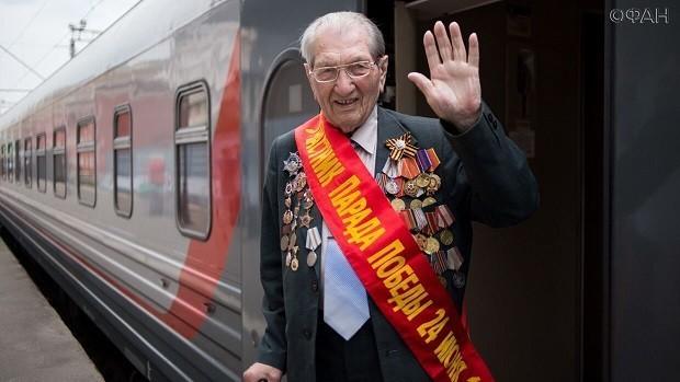 «Спасибо вам всем»: 95-летний ветеран Кужильный пообещал вновь приехать на парад Победы