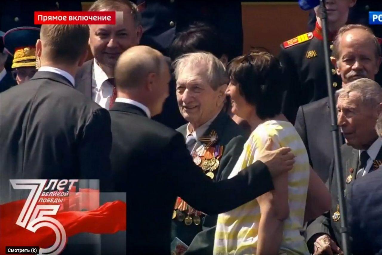 А.Н. Кужильный принял участие в Параде Победы в г. Москва