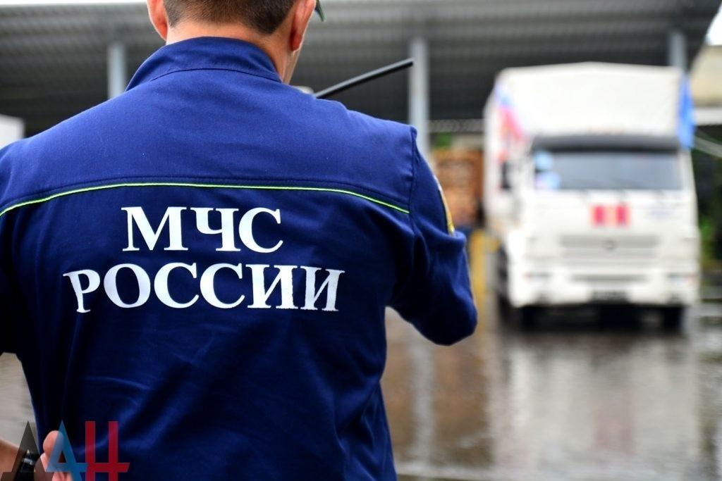 Российский гумконвой доставит 30 июля в ДНР лекарства и медицинское оборудование – МЧС