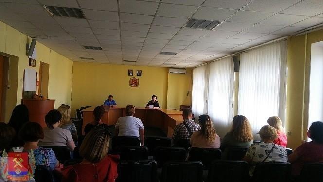 Встреча с коллективом ДДЮТ
