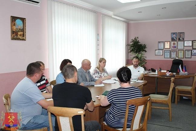 Встреча с коллективом Управления пенсионного фонда ДНР в г.Ясиноватая