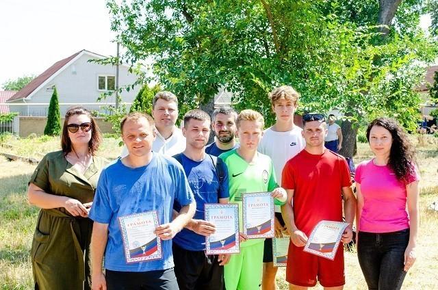 Состоялся турнир по футболу среди железнодорожников Ясиноватой!
