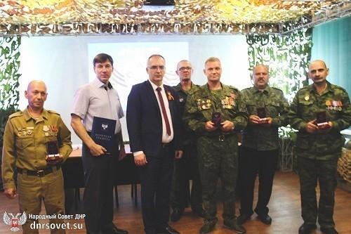 Владимир Бидёвка наградил медалями ветеранов Афганистана и участников боевых действий
