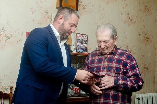 Почетный гражданин города Ясиноватая