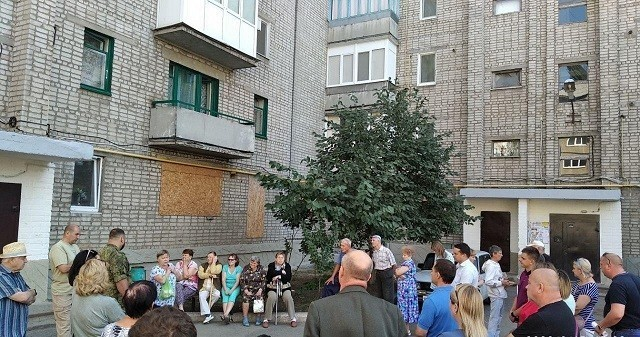 Сход граждан с жителями квартального комитета №8