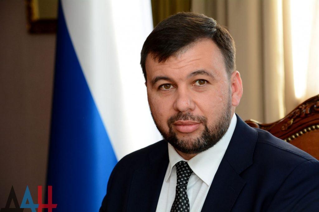 Глава ДНР поблагодарил Владимира Путина за личное участие в судьбе Донбассе
