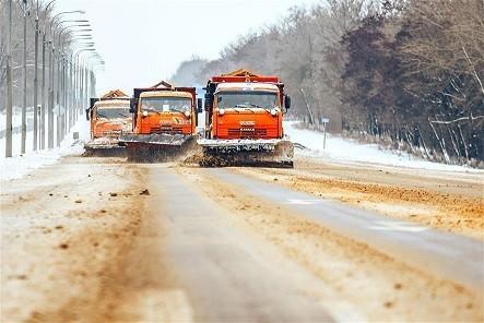 Для очистки дорог Республики от снега задействована 161 единица спецтехники