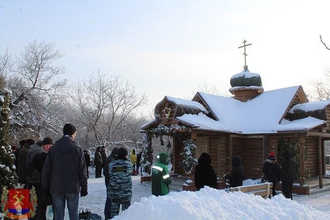 Мероприятия ко Дню Крещения Господня в городе Ясиноватая
