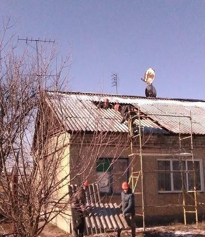 Информация о выполнении ремонтных работ в  пос. Красный Партизан