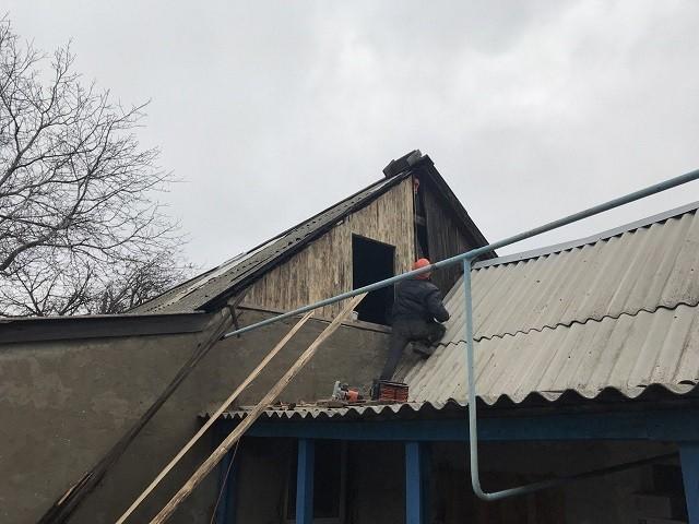 Информация о выполнении ремонтных работ в пос. Спартак