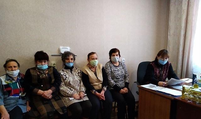 Рабочая встреча актива Ясиноватской общественной организации женщин