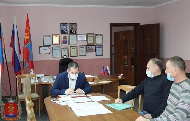 Рабочая встреча с активом Ясиноватского городского союза ветеранов Афганистана