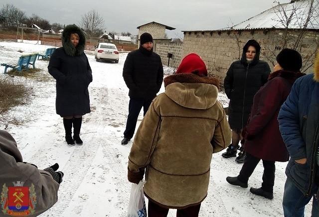 Сход граждан с жителями ул. Полтавская г.Ясиноватая