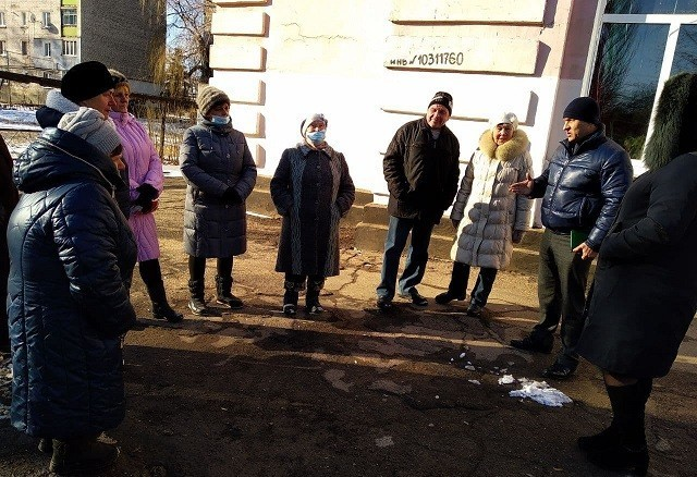 Сход граждан с жителями ул.Молодежная