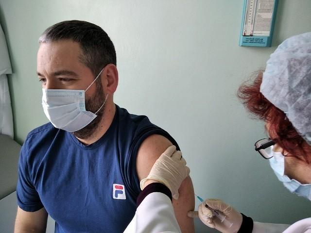 Глава города Д.С. Шевченко сделал прививку от COVID-19