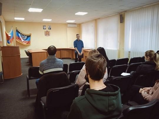 Агитационное мероприятие кандидата в депутаты Молодежного Парламента II созыва