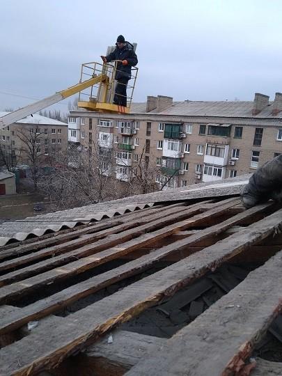Информация о выполнении ремонтных работ по ул.Некрасова