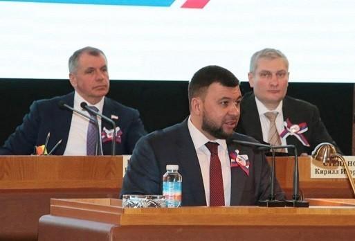 Наша историческая судьба – только вместе с Россией – Денис Пушилин