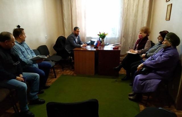 Сход граждан с председателями общественных организаций города
