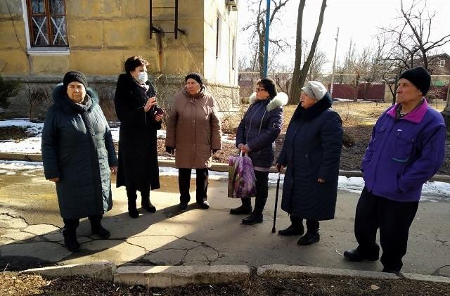 Сход граждан с жителями ул. Карла Маркса