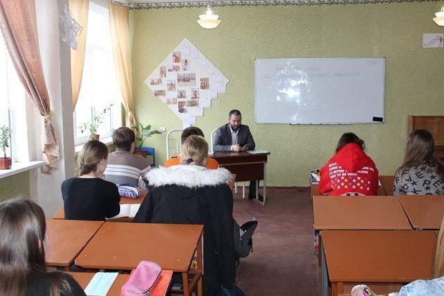 Встреча со студентами ГОУ ВПО «ДонАУиГС»