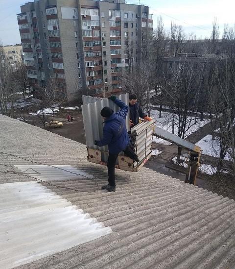 Информация о выполнении ремонтных работ по ул. Школьная
