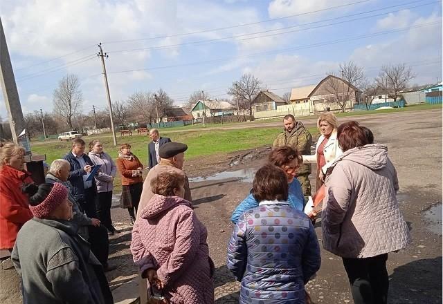 Сход граждан с жителями с.Яковлевка