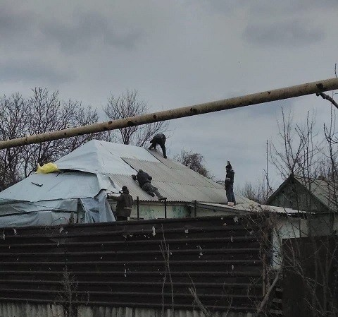 Информация о выполнении ремонтных работ в с.Спартак