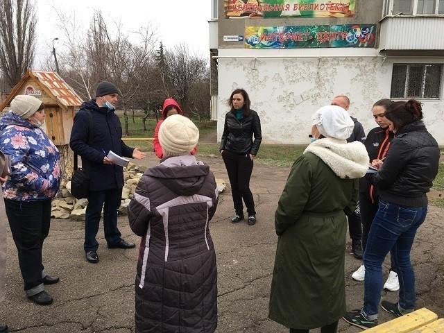 Сход граждан с жителями улицы Заводская, д. 94