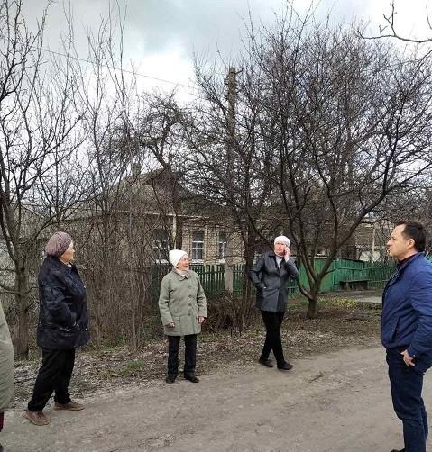 Сход граждан с жителями улицы Нахимова