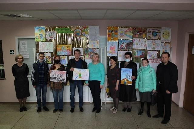 Заседание комиссии по проведению конкурса детского рисунка на тему: «Охрана труда глазами детей»