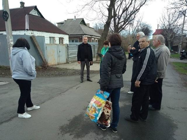 Сход граждан с жителями улицы Ореховая