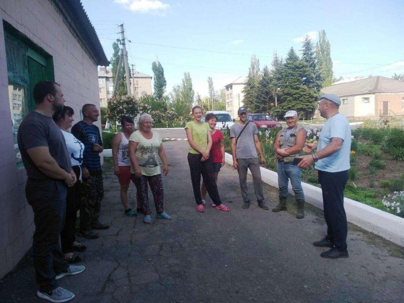 сход граждан в Красном партизане