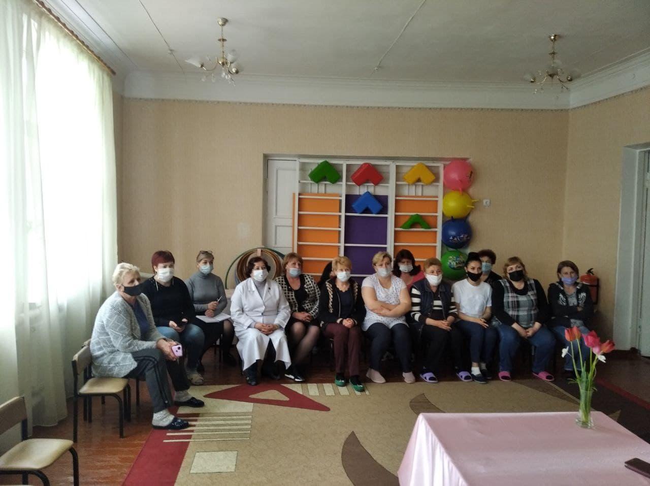 Встреча с сотрудниками детских садов