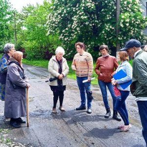 В поселке Минеральное обсуждают актуальные вопросы