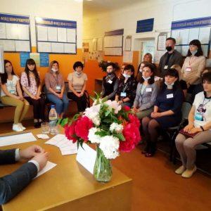 Встреча с работниками Управления Пенсионного фонда ДНР в г. Ясиноватая