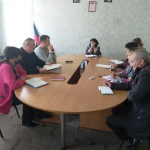 Заседание комиссии УТСЗН