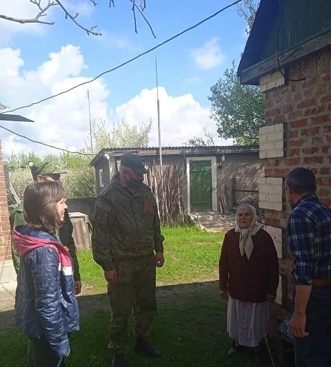 Сход граждан с жителями поселка Красный Партизан