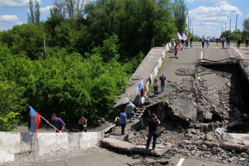 автопробег памяти в Донецке