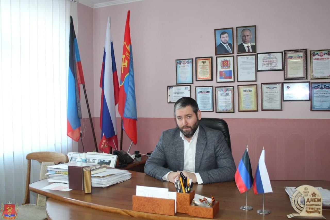 Поздравление главы администрации Д.С. Шевченко со светлым праздником Пасхи!
