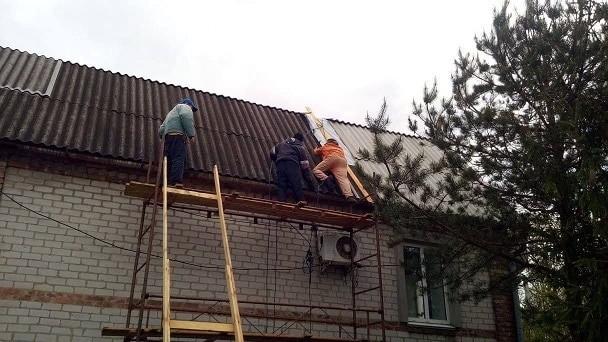 Информация о выполнении ремонтных работ в с.Веселое