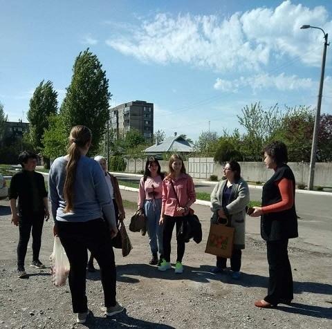 Сход граждан с жителями ул.8 Марта