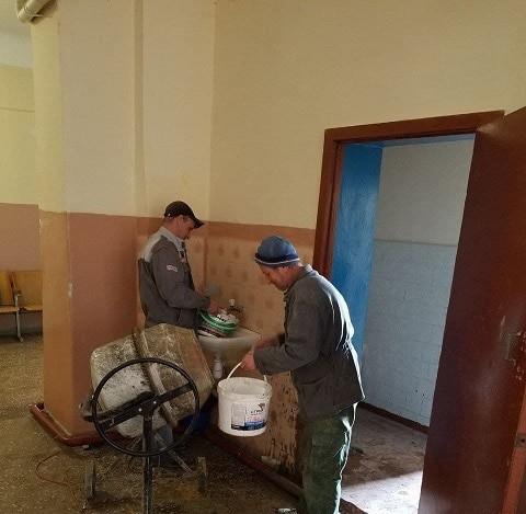 Информация о выполнении ремонтных работ в МОУ №1